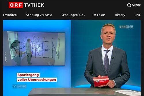 Kollaterale ORF OÖ Heute-Beitrag